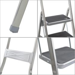 Poltrona relax 5 posizioni in tessuto floccato in vari colori 53x130x14 cm