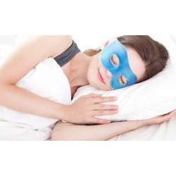Mascherina in gel rilassante ideale per la stanchezza agli occhi