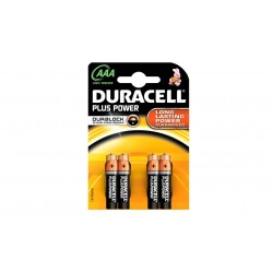 Pack 32 , 52 , 76 o 100 batterie Duracell LONG LASTING POWER AAA LR03 MN2400