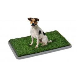 Lettiera per animali domestici in erba sintetica 68 X 43 X 5 cm