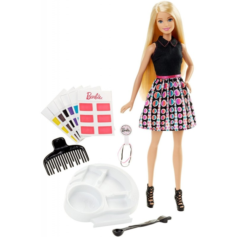 Barbie DHL90 - Acconciature Colorate