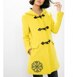 Cappotto donna ABRIG YALLOW